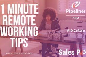 1 Minute Remote Working Tips #10: Culture