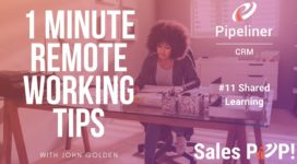 1 Minute Remote Working Tips #11: Shared Learning
