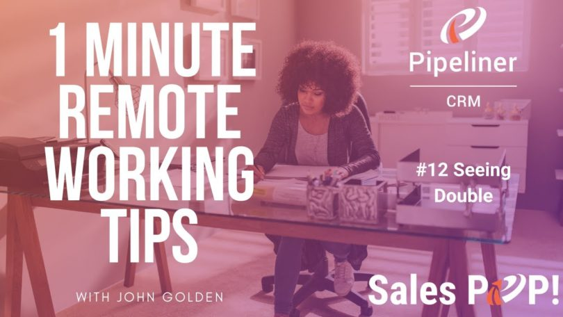 1 Minute Remote Working Tips #12: Seeing Double
