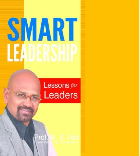Smart Leadership : Lessons for Leaders Cover