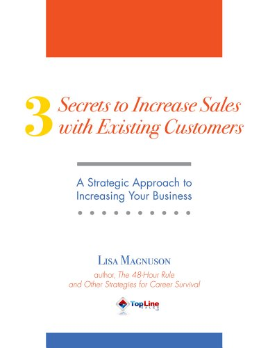 3 Secrets to Increase Sales with Existing Customers Cover