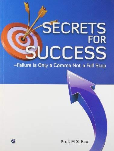 SECRETS FOR SUCCESS Cover