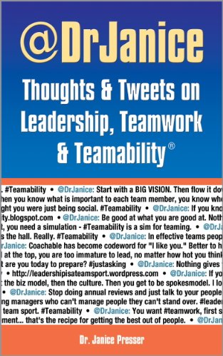 Thoughts & Tweets on Leadership, Teamwork, & Teamability Cover