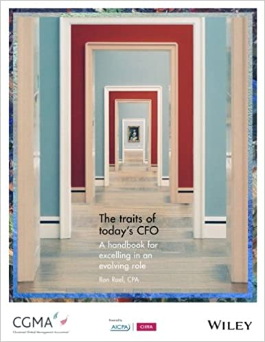 The Traits of Today's CFO: A Handbook for Excelling in an Evolving Role Cover