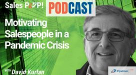 🎧  Motivating Salespeople in a Pandemic Crisis