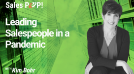 Leading Salespeople in a Pandemic