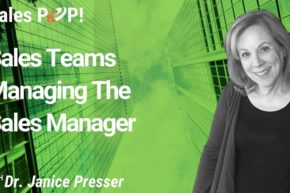 Sales Teams Managing The Sales Manager