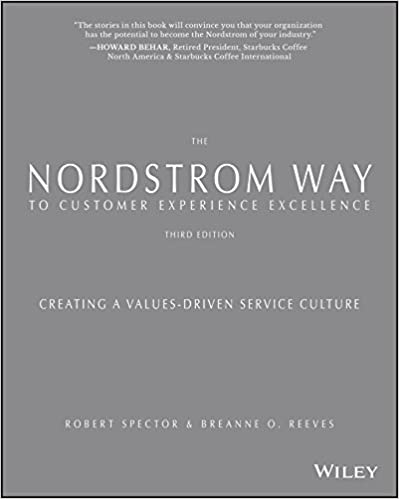 The Nordstrom Way to Customer Experience Excellence: Creating a Values-Driven Service Culture Cover