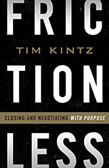 Frictionless: Closing and Negotiating with Purpose Cover