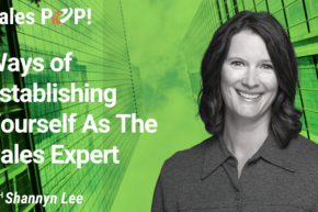 Ways of Establishing Yourself As The Sales Expert (video)