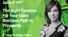 The Right Systems For Your Sales Business Path to Prosperity (video)