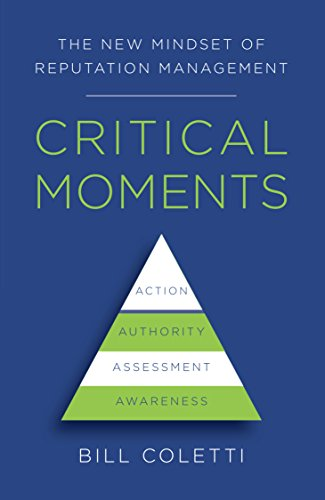 Critical Moments: The New Mindset of Reputation Management Cover