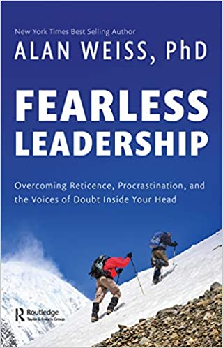 Fearless Leadership: Overcoming Reticence, Procrastination, and the Voices of Doubt Inside Your Head Cover