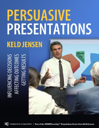Persuasive Presentations (SMARTnership™ Negotiation Series Book 1) Cover