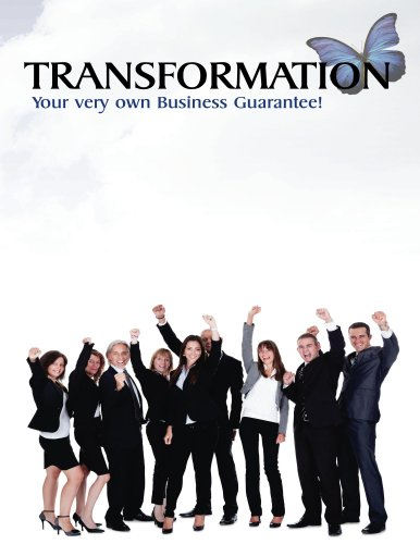 TRANSFORMATION Your very own Business Guarantee! Cover