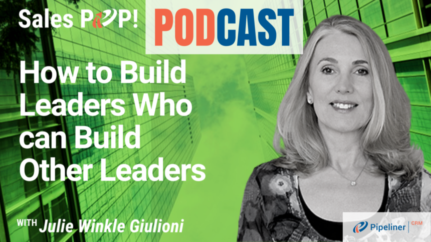 🎧   How to Build Leaders Who can Build Other Leaders