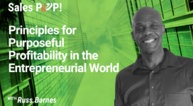 Principles for Purposeful Profitability in the Entrepreneurial World (video)