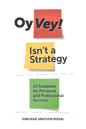 Oy Vey! Isn't a Strategy Cover