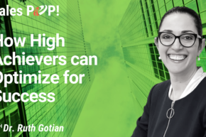 How High Achievers can Optimize for Success (video)