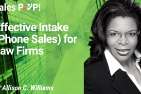 Effective Intake (Phone Sales) for Law Firms (video)