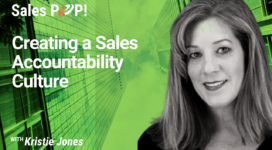 Creating a Sales Accountability Culture (video)
