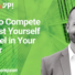 How to Compete Against Yourself to Excel in Your Career (video)