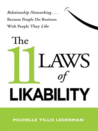 The 11 Laws of Likability Cover
