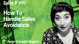 How To Handle Sales Avoidance (video)