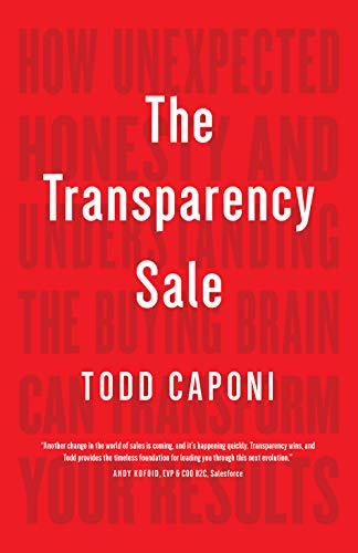 The Transparency Sale Cover