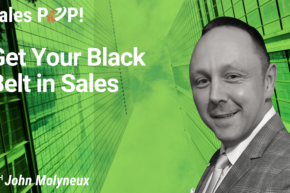 Get Your Black Belt in Sales (video)