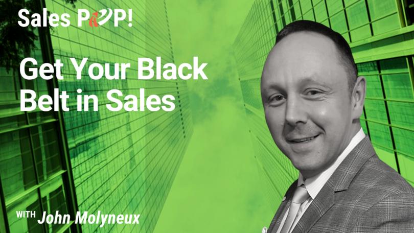 Get Your Black Belt in Sales (video)