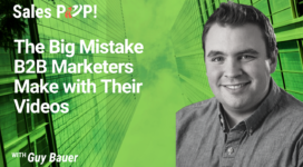 The Mistake B2B Marketers Do With Their Videos (video)