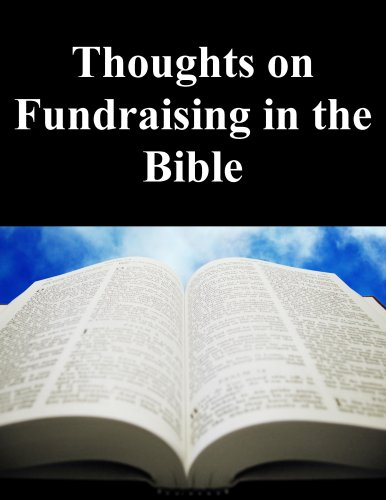 Thoughts on Fundraising in the Bible Cover