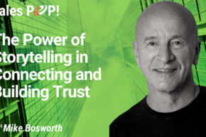 The Power of Storytelling  in Connecting and Building Trust (video)
