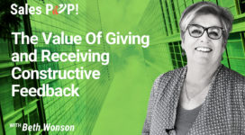 The Value Of Giving and Receiving Constructive Feedback (video)