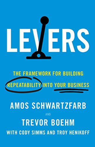 Levers: The Framework for Building Repeatability into Your Business Cover