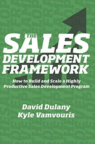The Sales Development Framework Cover
