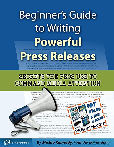 Beginner's Guide to Writing Powerful Press Releases Cover