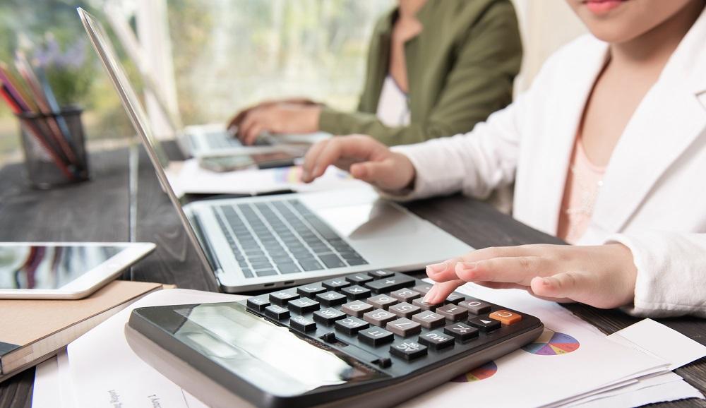 Business woman working teamwork process, Business team