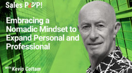 Embracing a Nomadic Mindset to Expand Personal and Professional (video)