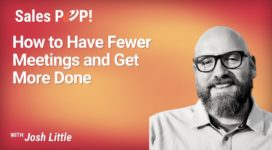 How to Have Fewer Meetings and Get More Done (video)