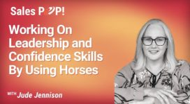 Working On Leadership and Confidence Skills By Using Horses (video)